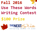 Fall 2016 Use These Words Writing Contest